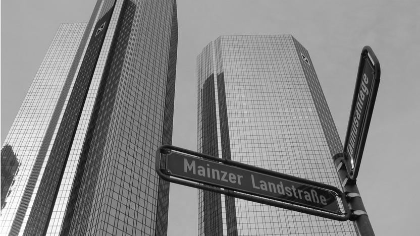 Deutsche Bank in Frankfurt [Quelle: freeimages, Autor: ElRincon]