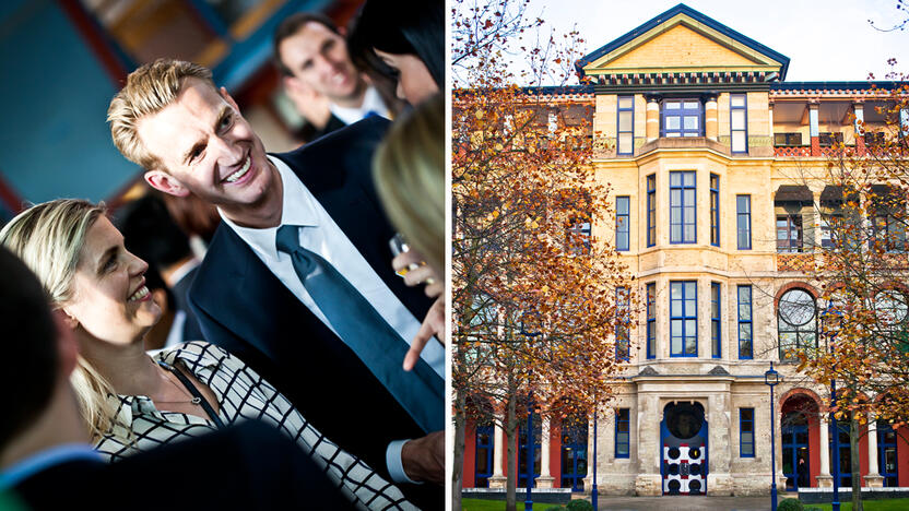 Studenten an der Cambridge Judge Business School [Quelle: Cambridge Judge Business School]