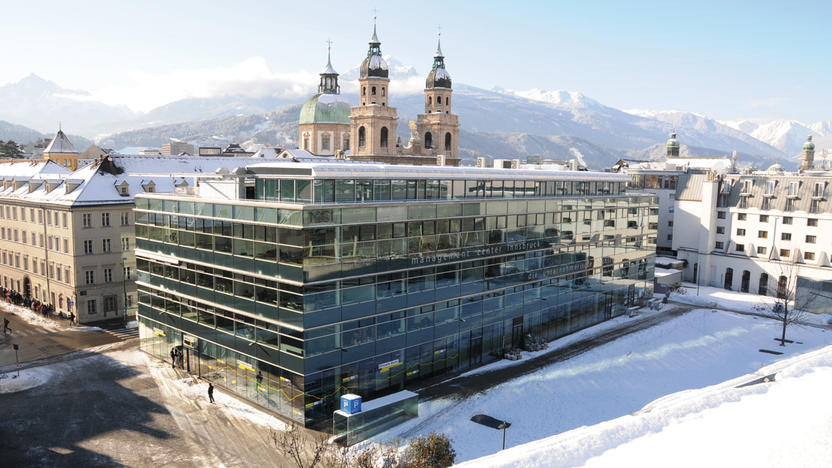 Der MCI-Campus im Winter (Quelle: MCI)
