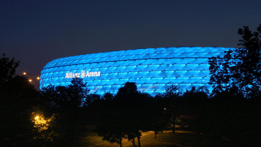 Allianz Arena blau (Quelle: Allianz)