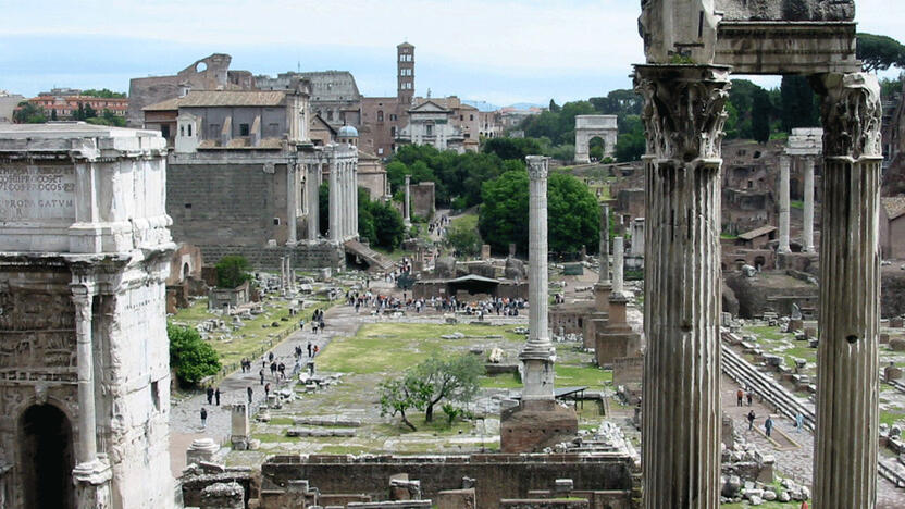 Rom Forum Romanum (Quelle: freeimages.com, Artgeek3K)