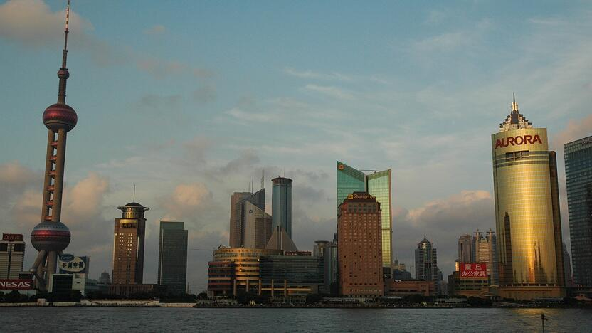 Schanghai China Skyline (Quelle: freeimages.com, GoldDuck)