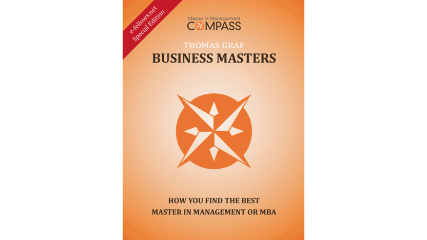 Cover Business Masters E-Book [Quelle: e-fellows.net]