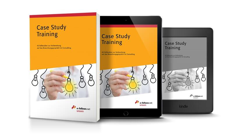 Case Study Training Fallstudie Training Cover [Quelle: e-fellows.net]