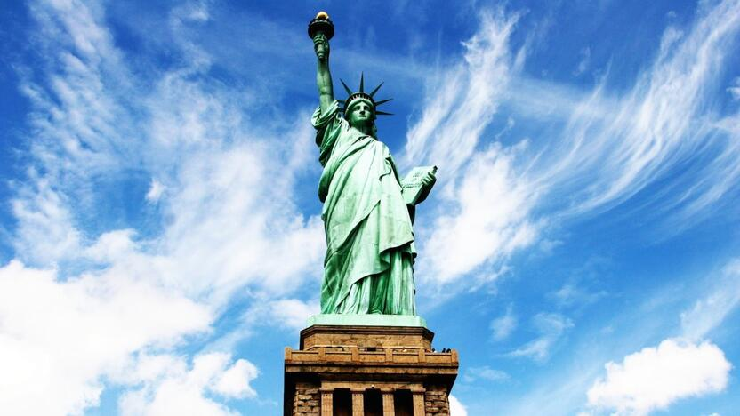 Freiheitsstatue, NYC, New York, Statue of Liberty [Quelle: freeimages.com, Autor: ranjithd]