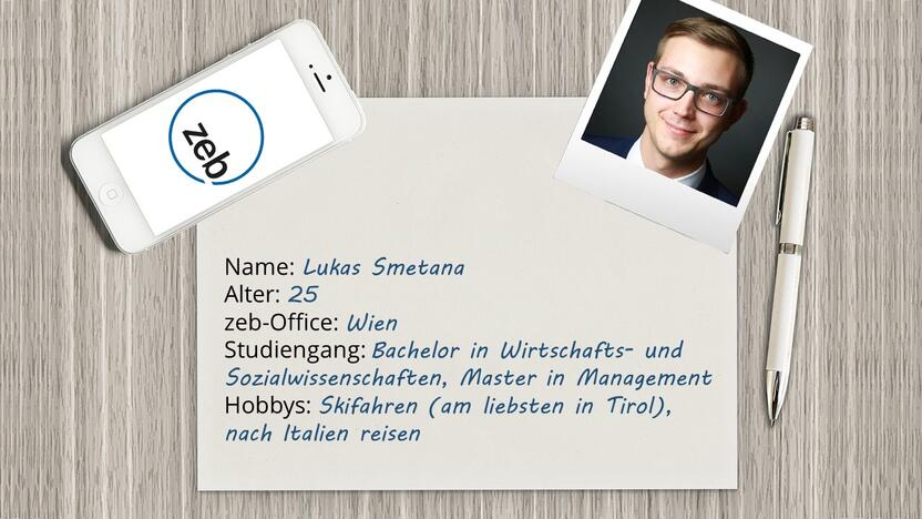 Steckbrief von Lukas [Quelle: Pixabay.com, Montage: e-fellows.net]