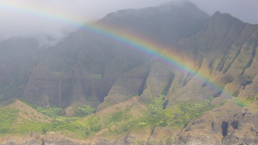 Hawaii, Regenbogen, Ausland [Quelle: freeimages.com, Autor: chrismo52]