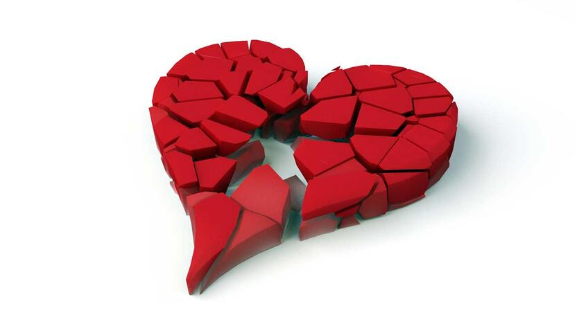 Broken heart (Quelle: freeimages.com, Autor: cobrasoft)