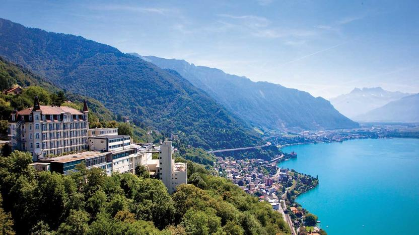 Campus in Glion sur Montreux [Quelle: Glion Institute of Higher Education]