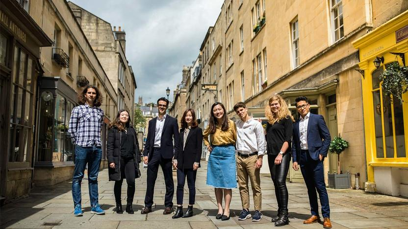 Studenten der University of Bath School of Management [Quelle: University of Bath School of Management]