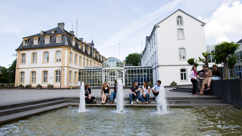 Campus der WHU in Vallendar (Quelle: WHU Otto Beisheim School of Management)
