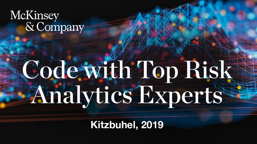 Code with Top Risk Analytics Experts [Quelle: McKinsey & Company]