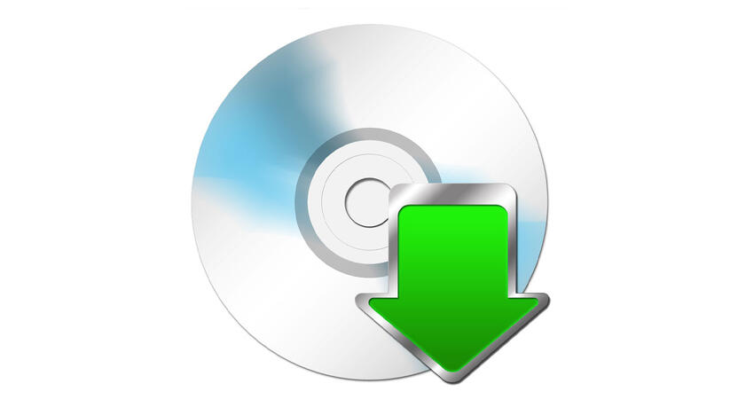 Software CD Download [Quelle: istock]