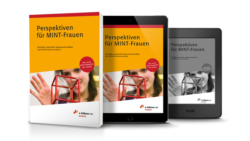 Buchcover Perspektiven für MINT-Frauen [Quelle: e-fellows.net]