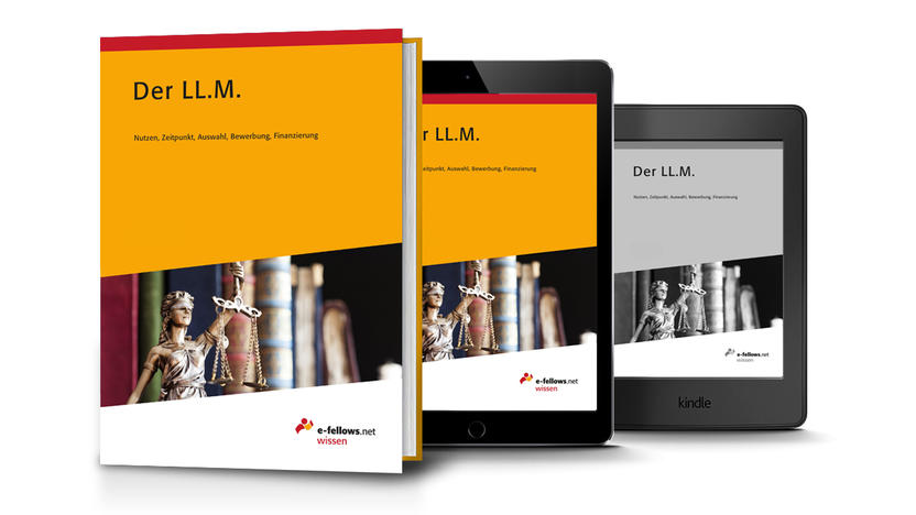 Der LL.M. Cover [Quelle: e-fellows.net]