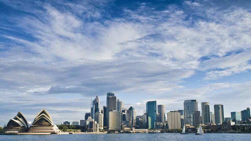 Sidney, Skyline, Australien, Auslandspraktikum, Auslandssemster [Quelle: tempus corporate, Getty Images]