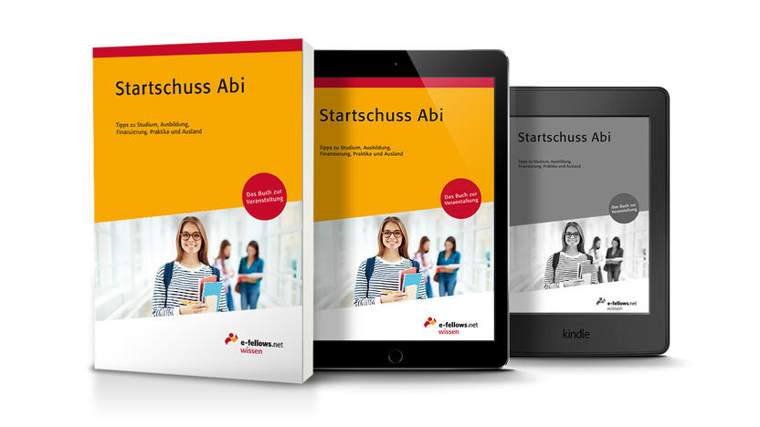 Cover Startschuss Abi [Quelle: e-fellows.net]