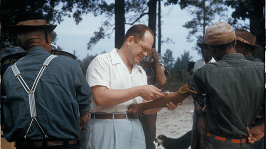 Tuskegee Syphillis Experiment [Quelle: National Archives]