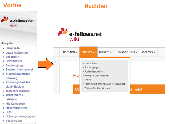 Wiki Navigation [Quelle: e-fellows.net]
