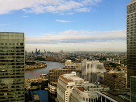 Blick aus dem Clifford Chance Office London [Quelle: Clifford Chance]