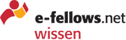 e-fellows.net wissen Karrierebücher (Logo)