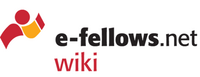 Logo des e-fellows.net wiki [Quelle: e-fellows.net]